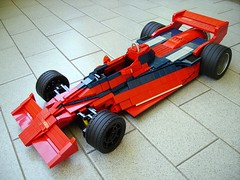 LEGO Brabham BT46B 2009 100 (RoscoPC) Tags: car bar 1 fan steering flat working engine formula 1978 12 won niki cylinders gp brabham lauda stabilizer suspensions studless bt46b