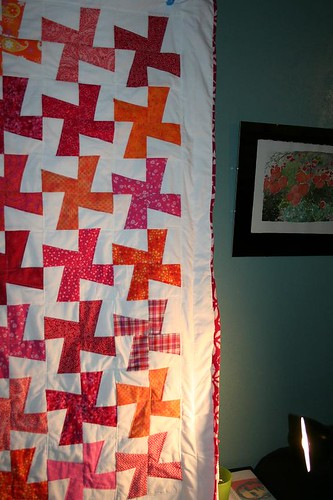 Cartwheel Quilt Almost Done