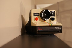 rainbow polaroid love. (michellenjackson) Tags: polaroid rainbow treasure goodwill landcamera thrifted
