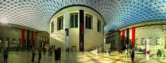 Great Court in the British Museum, London (UK) (Panoramyx) Tags: uk greatbritain panorama london museum unitedkingdom panoramica londres british museo londra hdr británico royaumeuni blueribbonwinner granbretaña