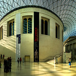 Great Court in the British Museum, London (UK)