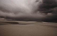 Purdy Is Overrated (taylorkoa22) Tags: bw storm newmexico clouds sand nikon pattern whitesands dunes curves windy form nm toned d300 whitesandsnationalmonument 30mph marcgutierrez top20nm