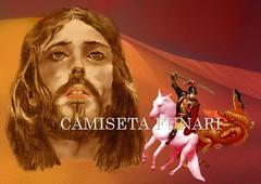 jesus cristo sao jorge juntos no deserto