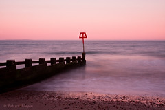 ocean bay (Patrick Mayon) Tags: longexposure sunset beach landscape bay coast dorset nd paysage swanage jurassiccoast borddemer nd8 nd4 shootraw cokinndfilter