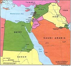 Israel, Palestina dan Sekitarnya