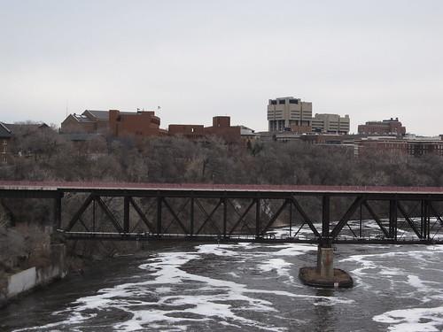 U of MN from 10th St Bridge