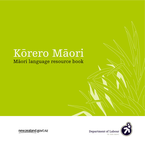 Maori language resource book
