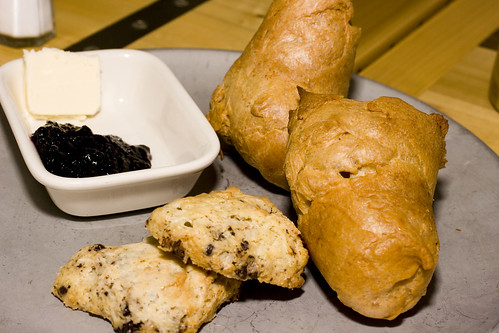 Chocolate Chip Scones and Pop-Overs