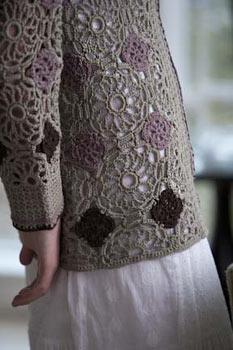 Blossom Kimono ~ Motif Close-up