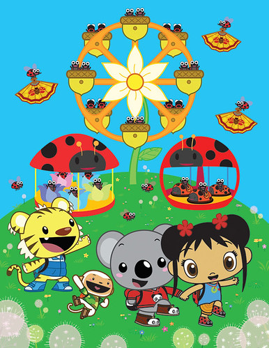 Ni Hao, Kai-lan Ladybug Festival! por Martin Hsu.