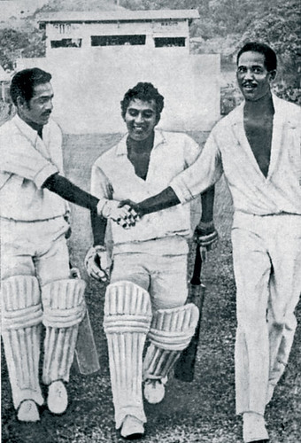 Dancing in the lions den-India vs WI 2nd test Port-of-Spain Trinidad 1971