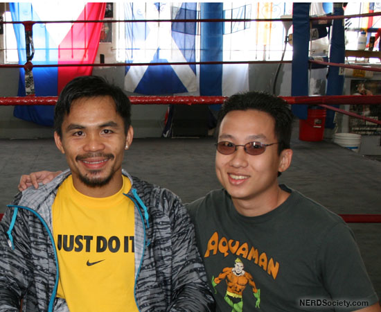 3437040611 e82f916707 o Meeting Boxing Great, Manny Pacquiao
