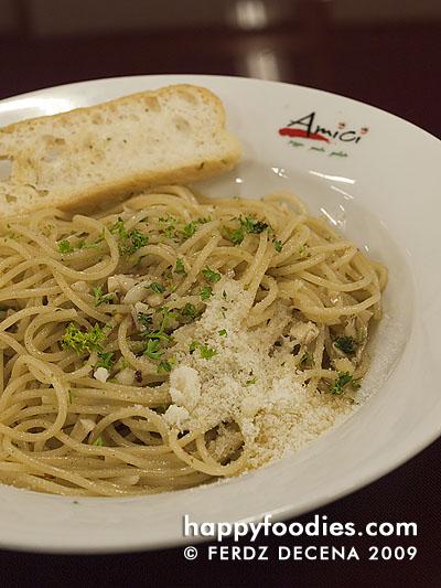 Spaghetti Aglio Olio e Pepperoncino (Php 175)