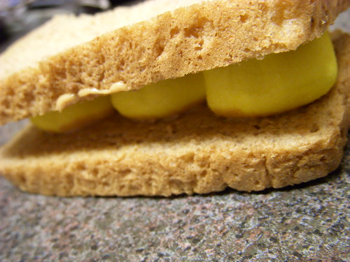 Peanut Butter and Peeps Sandwich