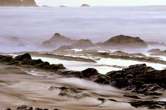 Windy exposure (luisa_m_c_m_cruz) Tags: longexposure sea portugal rocks windy algarve castelejo