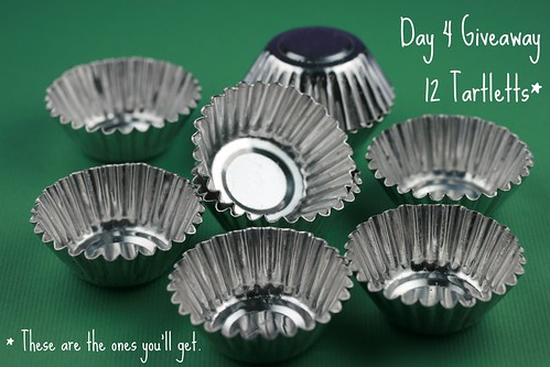 The Real Giveaway Mini Tart Shells