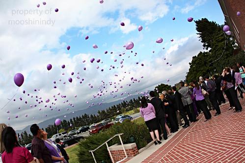 Maddie Spohr's Balloon Release.