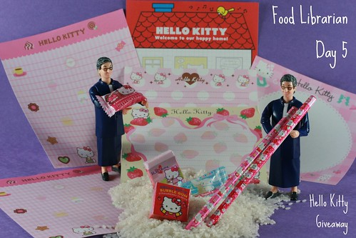 Food Librarian - National Library Week Hello Kitty Giveaway