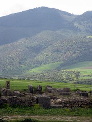 Morocco (jonesmonster) Tags: rocks hills morocco april 2009 volubilis meknes romanruins