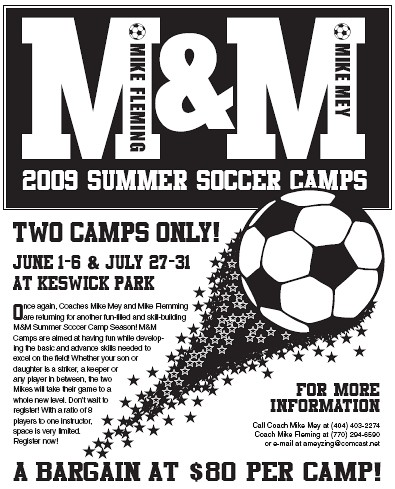 M & M Summer Soccer Camp