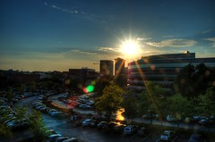 Greenville Sunset HDR