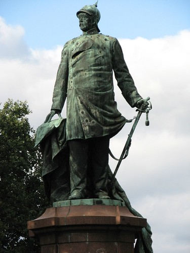 Bismarck Statue in Berlin
