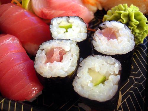 Sushi von nooch Zürich Steinfelsareal