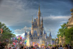 Magic Kingdom HDR (Explored!) (Kristopher Michael) Tags: world test usa castle st balloons orlando nikon mainstreet florida kingdom disney kris vista wdw hdr magickingdom buena the d90 nikond90 15200mm 5stardisney 5stardisneyaward