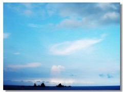 Orchid Island  2 ---   (Ming - chun ( very busy )) Tags: blue sea sky cloud taiwan    soe   clo