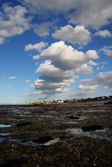Seaview from Puckpool 2 (gallyslave) Tags: sea sky beach water clouds reflections landscape landscapes seaside perspective isleofwight beaches wight seaview iow appley puckpoolbeach
