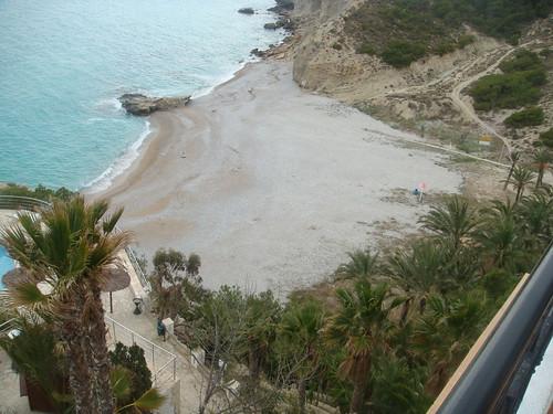 Vista del mar desde la terraza