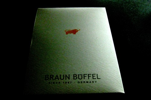 Braun Buffel box