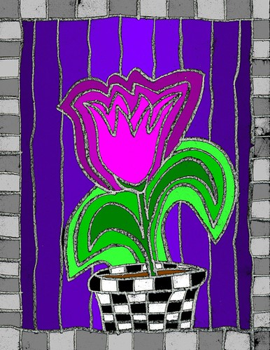 Calvin's Tulip
