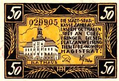 Tilsit, 50 pf, 1921 (Iliazd) Tags: notgeld emergencymoney germaninflationarymoney germanpapermoney