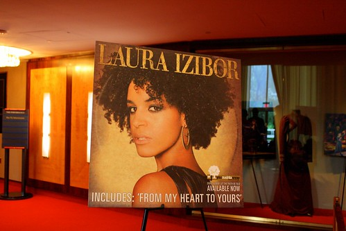 Laura Izibor at the Kennedy Center