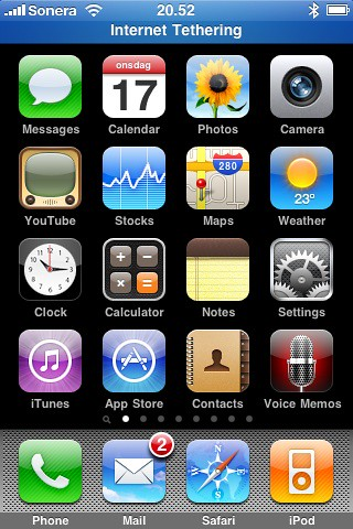 Internet Tethering on the iPhone 3G