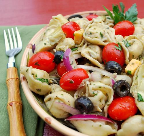 Tortellini Pasta Salad CU