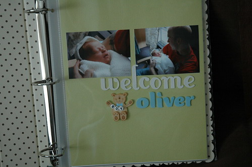 Olivers first page
