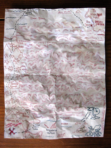 Treasure Map letter