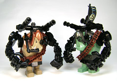 Trolls ... in ... space! (DARKspawn) Tags: castle marine lego space borg cannon soldiers troll troops cyber trolls robo robotic