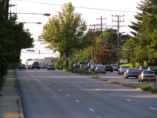 Traffic On Georgia Avenue