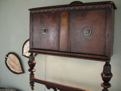 cabinet wall