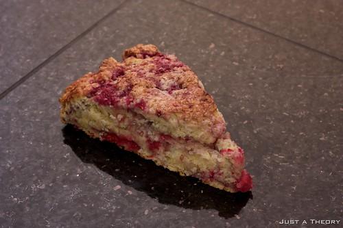 Raspberry Scone