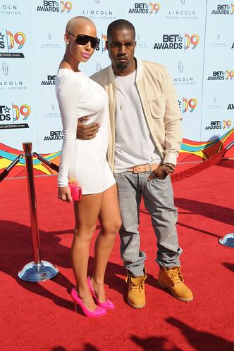 amber rose and kanye west at bet awards. Amber Rose, Kanye West