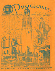 Carthay Circle Theater (jericl cat) Tags: art illustration vintage circle paper design theater ephemera program font type carthay