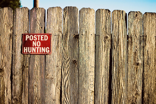 posted: no hunting
