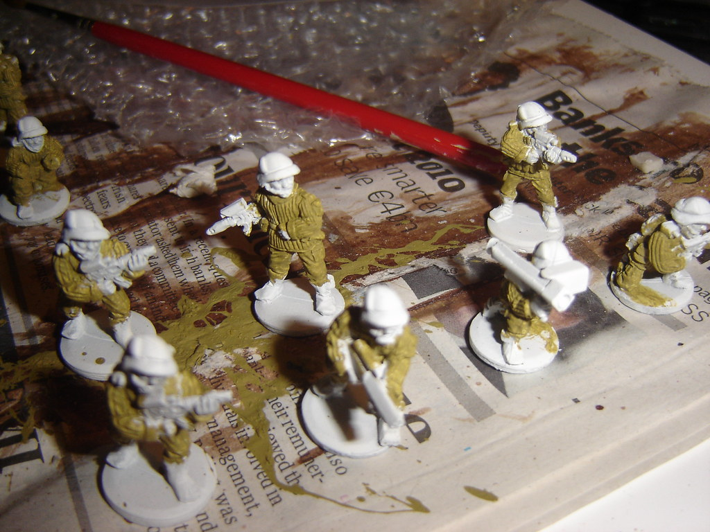 Troopers - Base Coat