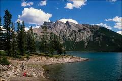 00038577 (wolfgangkaehler) Tags: mountain lake canada mountains landscape nationalpark scenic unescoworldheritagesite unesco worldheritagesite northamerica banff rockymountains albertacanada banffnationalpark lakeminnewanka canadianrockies northamerican unescosite