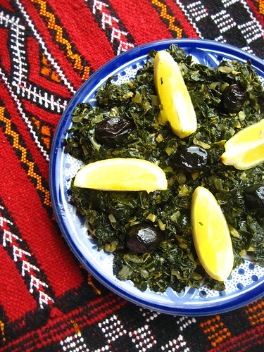 Sauteed Kale with Cumin and smoked paprika