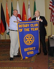 Club of Year Large - Lawrenceburg by Rotary District 6760